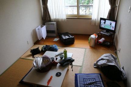 十和田湖の眺められる和室