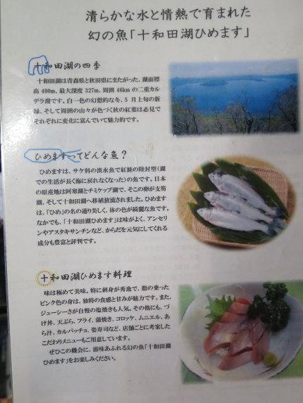 魚がいなかった十和田湖