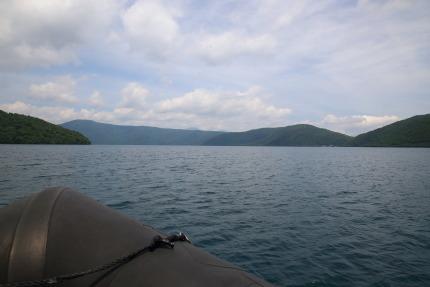 十和田湖ボートツアー