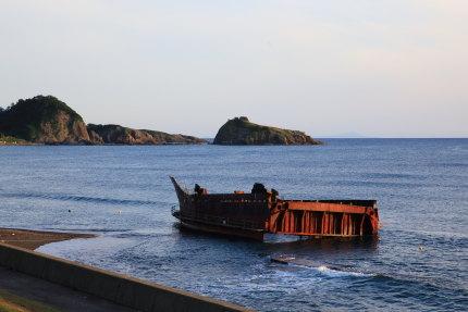 中国人の座礁船2