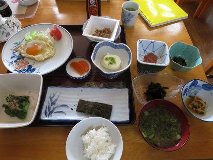 民宿 汐ケ島さんの朝食
