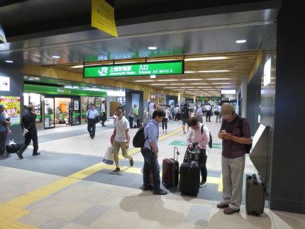 上越妙高駅は、混雑