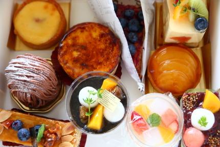 フランス菓子店レ・ドゥーさんのケーキ