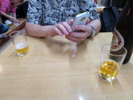 加茂駅近くの食堂