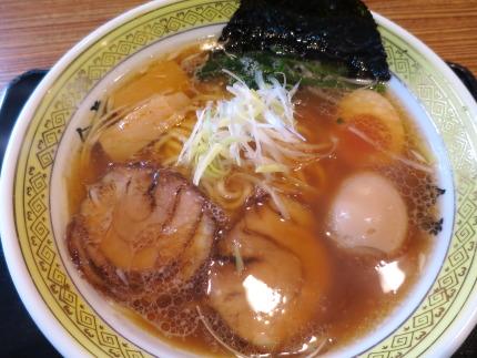 金虎中華そば650円+味玉クーポン