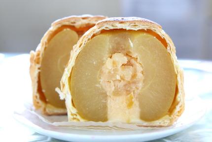 青森県産「ふじ」を1カ月間、まるごとシロップに漬け