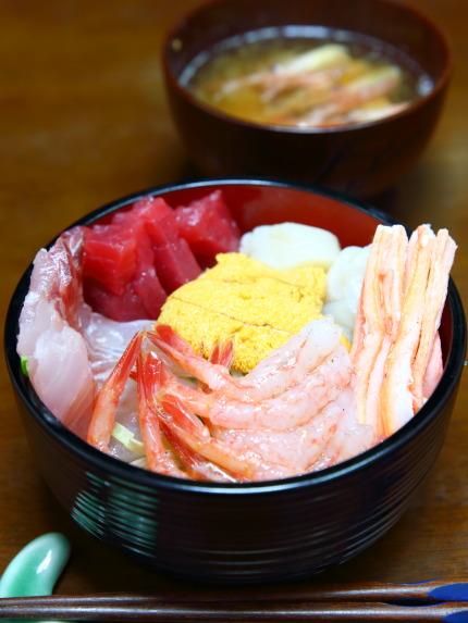 自家製海鮮丼2