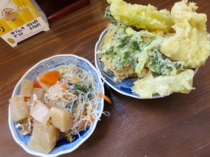 天ぷら&総菜が食べ放題