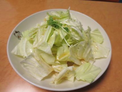 塩だれキャベツ388円(税込み)