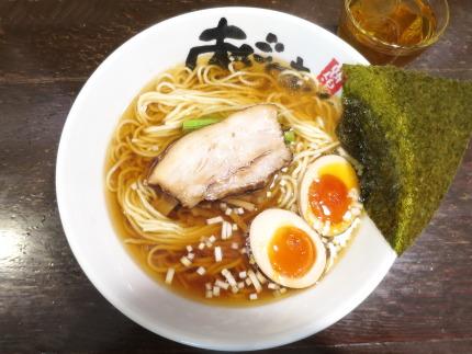 醤油麺700円(税込)