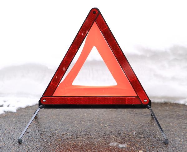三角表示板