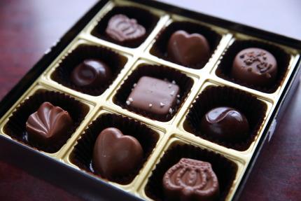 大人のお味のチョコレート