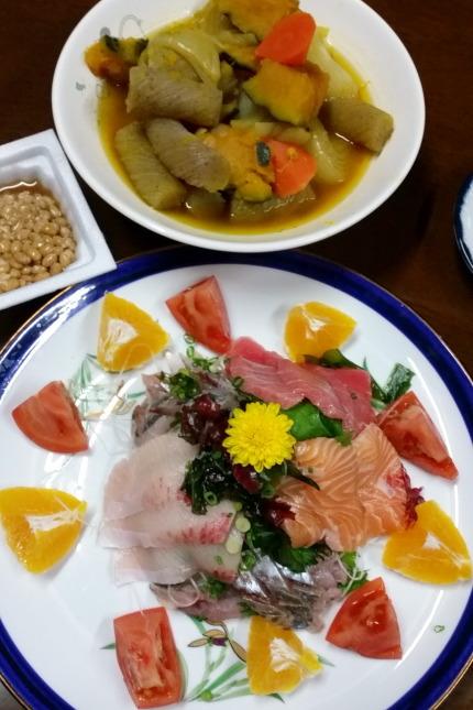 3月3日(木)の夕食