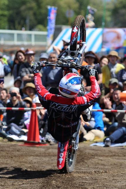 Hondaトライアルバイクショー