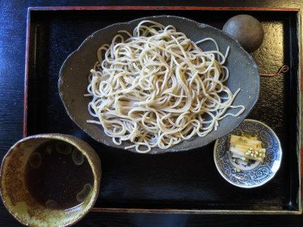 雉子そば(細)1650円