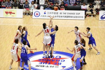 女子 U-23 日本代表 vs KDB生命ウィナーズ(韓国女子リーグ)