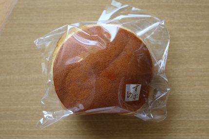 すずめやさんのどら焼き160円(税込み)
