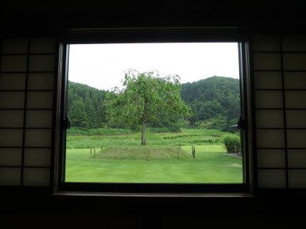 のんびりとした田舎風景