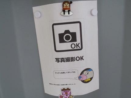 写真撮影OK