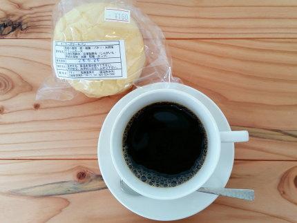 コーヒーと上越市大和5丁目のプティさんのパン