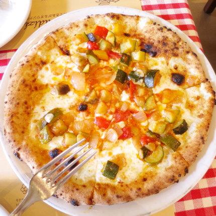 上越夏野菜のピッツァ、オルトナーラ