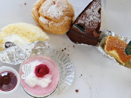 山カフェ ケーキ