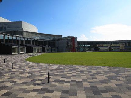 平成26年10月2日に開館した新しい施設