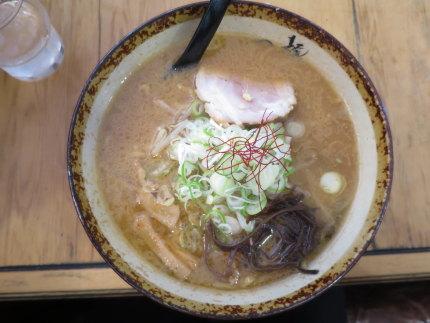 味噌ラーメン800円(税込)