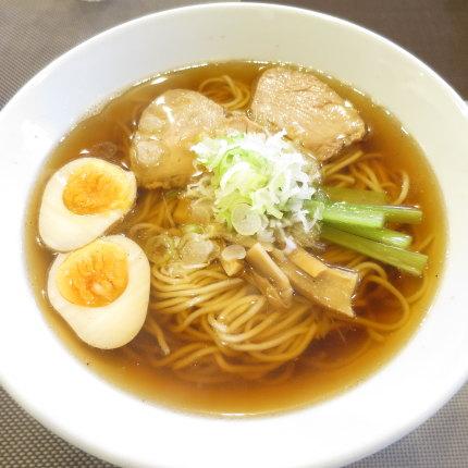 煮干中華そば680円(税込)+味玉無料