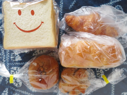 6点のパン