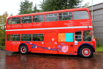 赤い2階建てロンドンバス