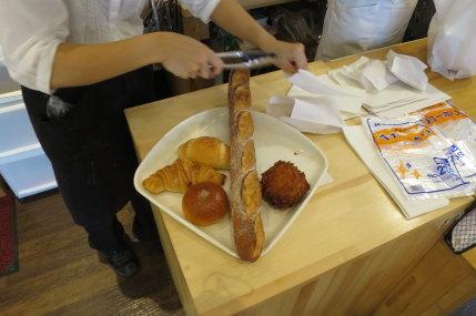 5点のパン