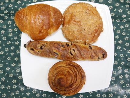 ハードパンや菓子パン
