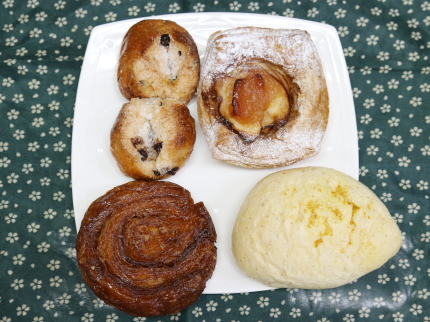 スイーツ系のパン
