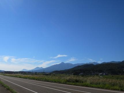 黒姫山から妙高山、火打山まで