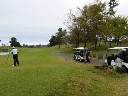 町内会のゴルフコンペ