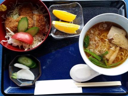カツ丼+ラーメン