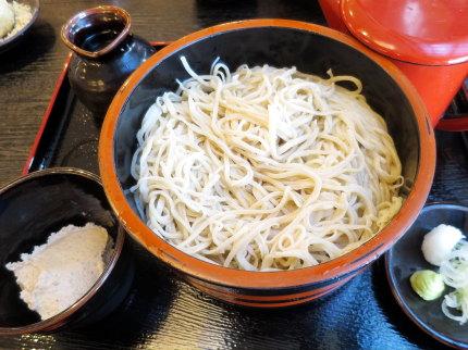 くるみ蕎麦980円