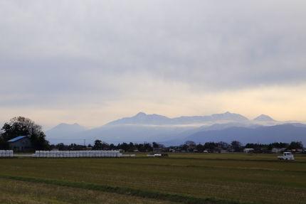 黒姫山、妙高山、火打山