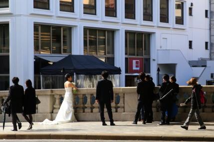 花嫁さんの撮影