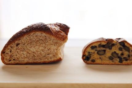 パンコンプレと豆パン