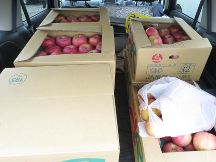 10kg2000円のリンゴを8箱