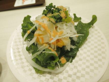 えびの天ぷらレタス包み