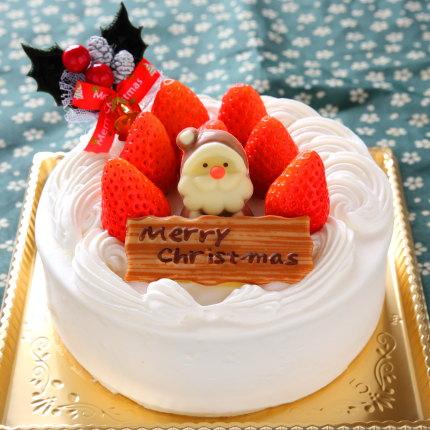 苺の生クリームケーキ