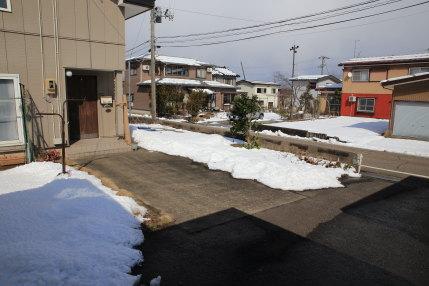 雪も溶けていました