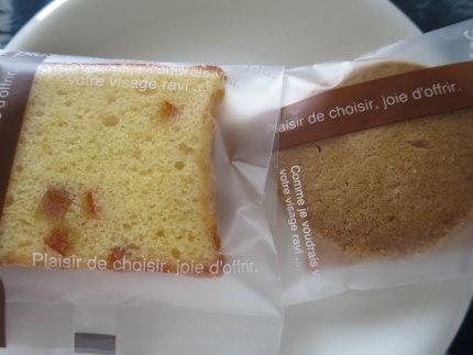 パウンドケーキとクッキー