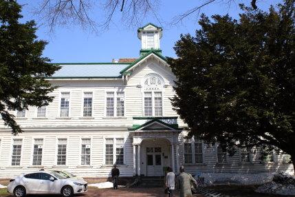 北海道らしい古い建物