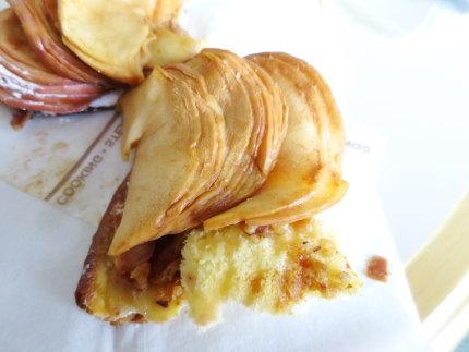 りんごのキャラメルピッツァ
