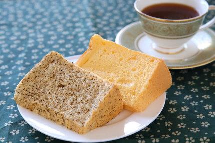 フンワリした食感にアールグレーの香り広がる紅茶シフォン