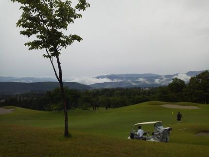 ゴルフコンペ当日